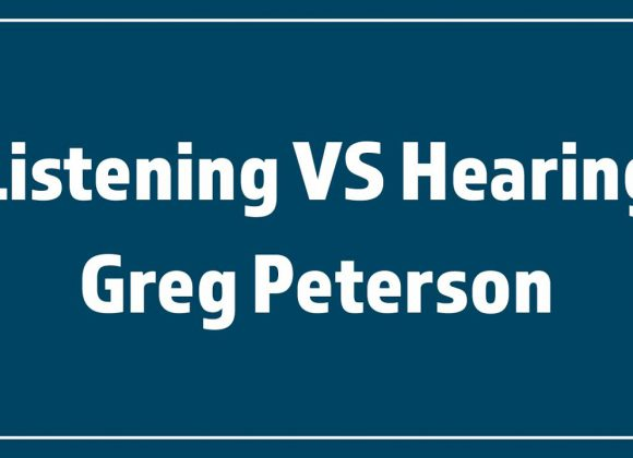 10/25/20 – Greg Peterson – Listening VS Hearing – Daniel 5:18-28 – Stand Alone